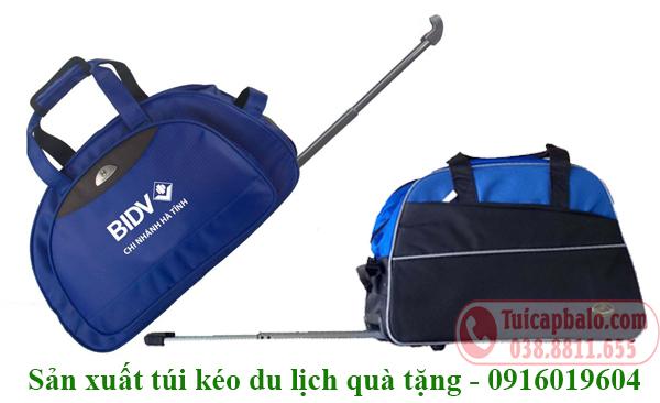 Sản xuất túi kéo du lịch quà tặng
