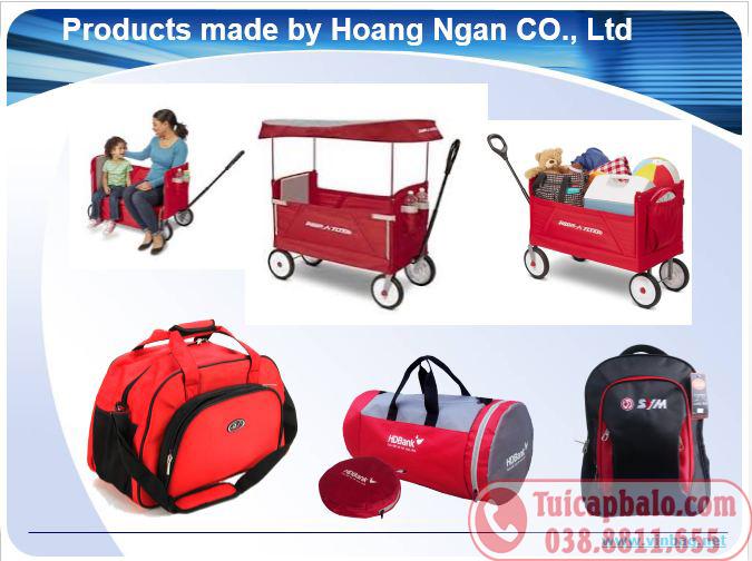 Xưởng may balo túi xách xuất khẩu tại Ninh Bình