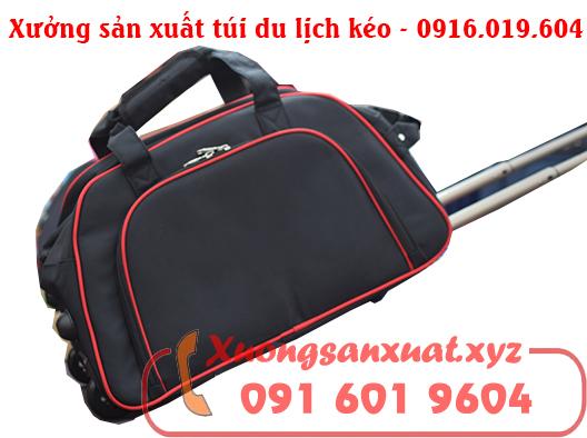 Xưởng sản xuất túi du lịch kéo tại Bắc Ninh